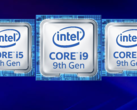 The 9th Gen Intel Coffee Lake-H Refresh processors are now official. (Source: Intel)