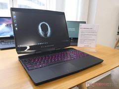 Better late than never — Alienware m15 launching this month with narrow bezels and GTX 1070 Max-Q graphics