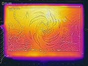 Heat-map front (idle)