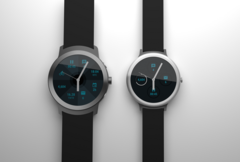 Render pictures of the Google Smartwatches that will be released in early 2017 with Android Wear 2.0.
