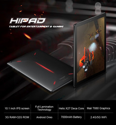 Chuwi HiPad tablet now shipping with deca-core Helio X27 processor (Source: Chuwi)