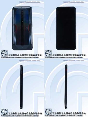 TENAA spoils the reveal of the upcoming RedMagic 6 phones. (Source: TENAA)