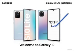 The Galaxy Note 10 Lite has a 3.5mm jack, but the Note 20 might not. (Source: Samsung)
