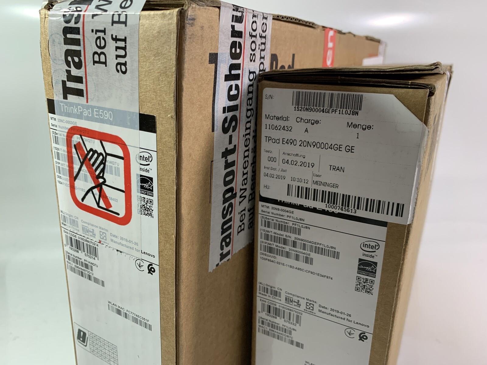 Caution: Hot – ThinkPad E490 & E590 have arrived