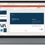 Microsoft PowerPoint online with updated header (Source: Microsoft Tech Community)