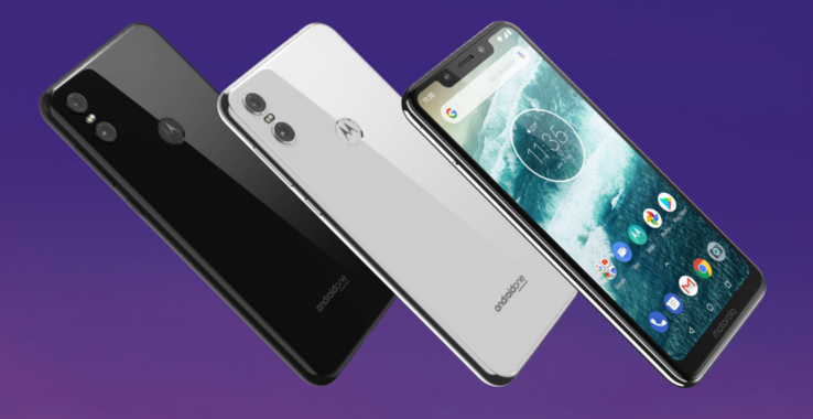 The Motorola One will ship in both black and white models. (Source: Motorola)