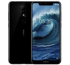 Nokia X5 Android smartphone with MediaTek processor (Source: SuomiMobiili)