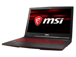 In review: MSI GL63 8RC-069. Test model provided by MSI