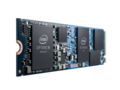 The H10 M.2 module features 3D XPoint Optane memory that will provide caching for the QLC NAND storage chips. (Source: Intel)