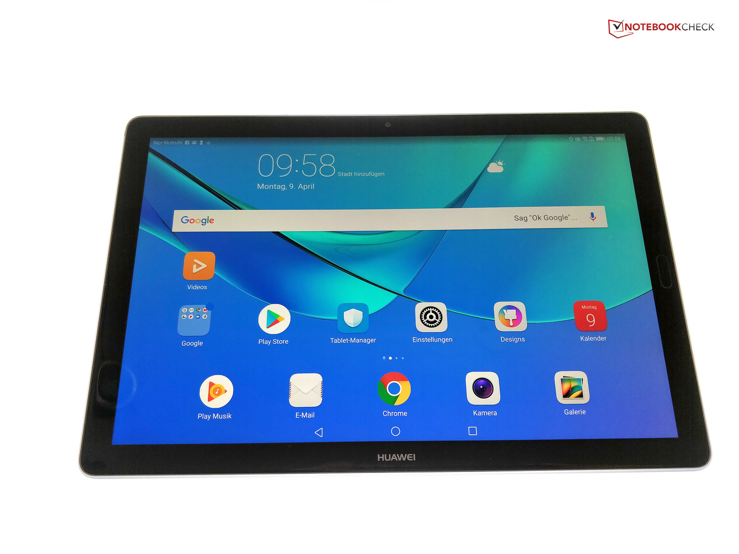 Huawei MediaPad M5 (10 8-inches, LTE) Tablet Review - NotebookCheck