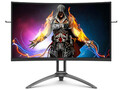 The AOC AG323QCX2 offers a refresh rate of 155 Hz and a peak resolution of 1440p. (Image source: AOC)