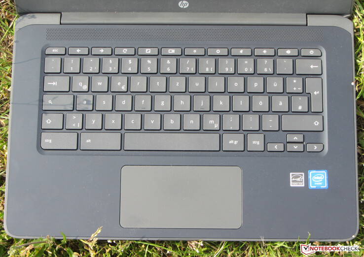 A look at the keyboard and trackpad on the Chromebook 14 G5