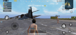 comparison image PUBG – iPhone X