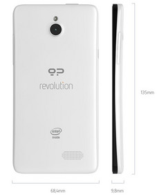 Geeksphone Revolution Firefox OS and Android dual-boot smartphone