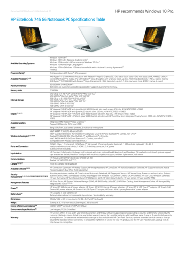 HP EliteBook 745 G6 specifications