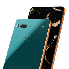 The Essential Phone PH-1 is a gorgeous mix of titanium, ceramic and glass. (Source: Essential)