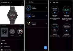 Wear OS Tiles manager June 2019 update (Source: 9to5Google)