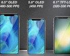 What Apple's September 2018 iPhone lineup could look like. (Source: KGI Securities)