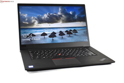 In review: Lenovo ThinkPad P1 (2019). Test unit provided by campuspoint.