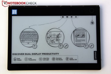 E-Ink: a keyboard, a surface for drawing or writing or an e-reader