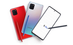 The Galaxy Note 10 Lite's possible color options. (Source: WinFuture)
