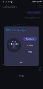 DTS Soundstage for headphones