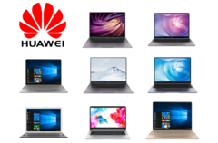 Huawei has created a good laptop series with the MateBooks. (Image source: Huawei/edited)