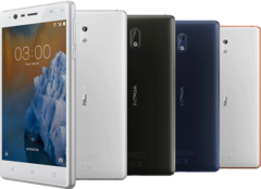 Nokia 3 budget Android smartphone (Source: HMD Global)