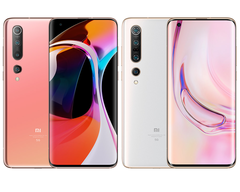 The Mi 10 and Mi 10 Pro, can you tell them apart? (Image source: Xiaomi)
