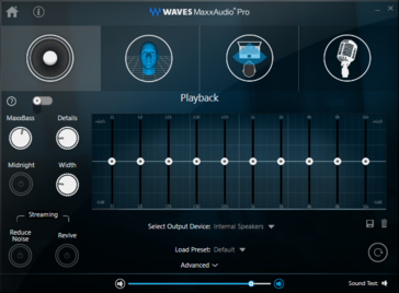 WAVES MaxxAudio Pro software