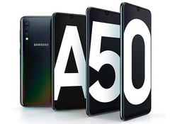 The Samsung Galaxy A50 features an Exynos 9610 SoC. (Image source: Samsung)