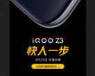 iQOO teases the Z3. (Source: Weibo)
