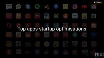MIUI for Poco features in-built optimizations for popular apps in the Google Play Store. (Source: Xiaomi)