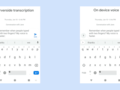 Google has used its AI expertise to bring offline speech recognition to Gboard on Pixel devices. (Source: Google)
