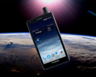 The Thuraya X5-Touch features a special satellite antenna and the phone is overall bulkier than the average smartphone due to its dedicated hardware. (Source: Android Police)