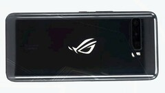 The Asus ROG Phone 3 and mystery Snapdragon 865 scored very highly on AnTuTu. (Image source: SparrowsNews)
