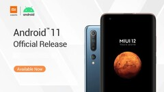 The Android 11 update for MIUI 12 is now arriving on some global devices. (Image source: Xiaomi)