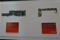 Core Y based system (with LTE and WiFi) compared to a 835 based board