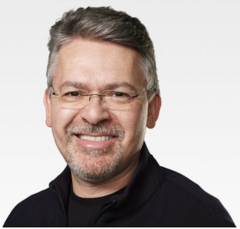 Apple's freshly minted Chief of Machine Learning and AI Strategy, John Giannandrea. (Source: Apple)