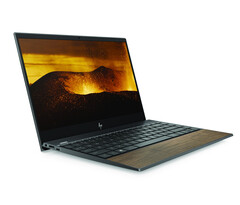 Who's up for a wooden HP Envy 13 powered by Intel Ice Lake? (Source: HP)
