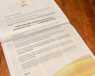 Sprint's open letter was printed in the New York Times. (Source: Sprint)