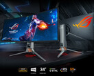 The new ASUS ROG Swift PG349Q. (Source: ASUS)