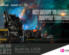 Biostar is all set to launch its flagship X570 motherboard lineup at Computex 2019. (Source: Biostar)