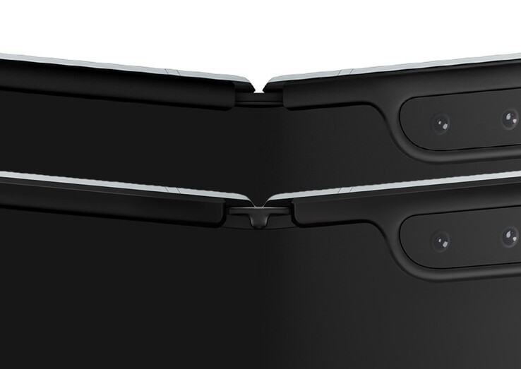 The redesigned Fold is in the foreground here as well. (Source: Samsung)