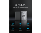 The new skyBOX portable SSD. (Source: Indiegogo)