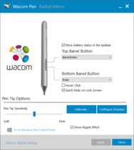 Wacom Pen application