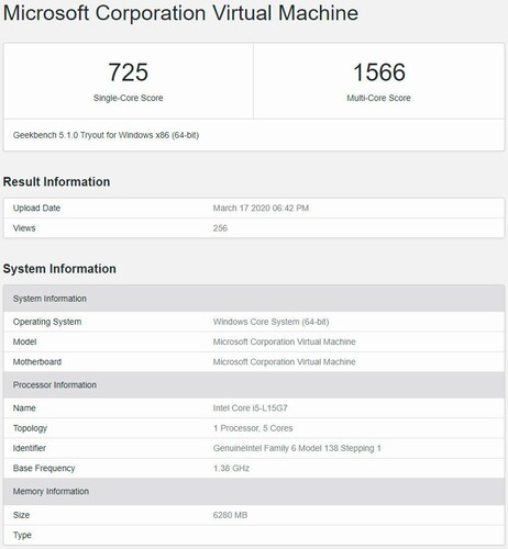 (Image source: Geekbench via @InstLatX64)