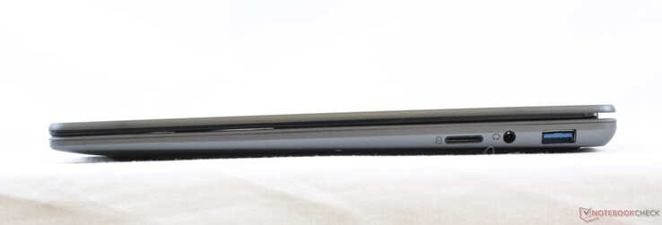 In-house pictures of our AeroBook. The rear and front are rounder and thicker than the promo images