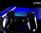 A concept render of the PS5 and DualShock 5 (Image source: Gaming Instincts & LetsGoDigital)