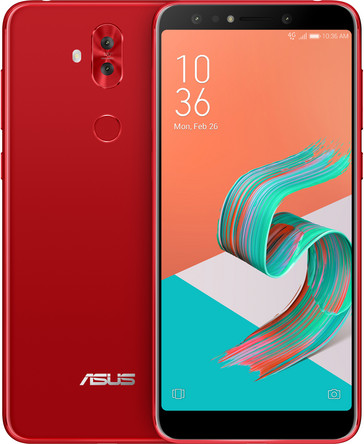 Asus ZenFone 5Q phablet in red (Source: Asus)